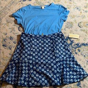 NWT Michael Kors skirt and blouse set